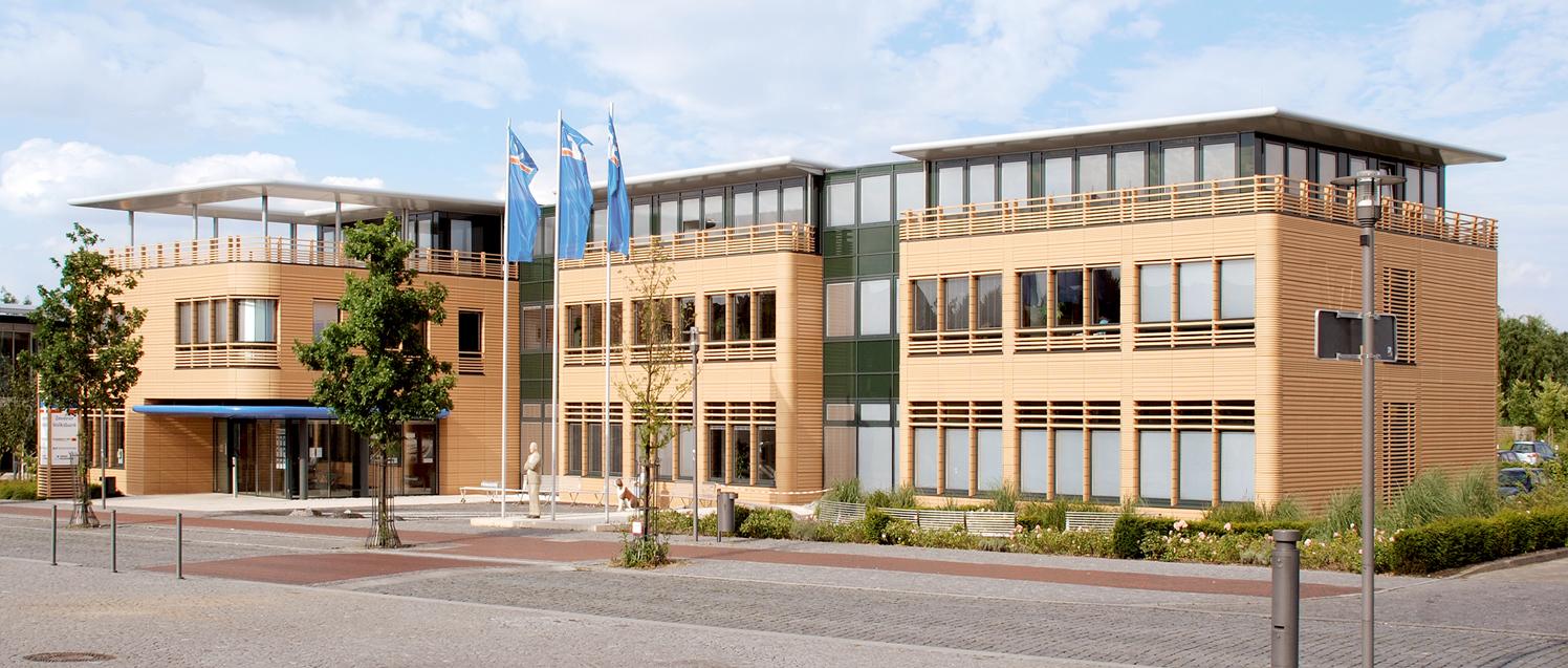 Hauptstelle der volksbank zeven ellwanger chabert for Produktdesign jobs